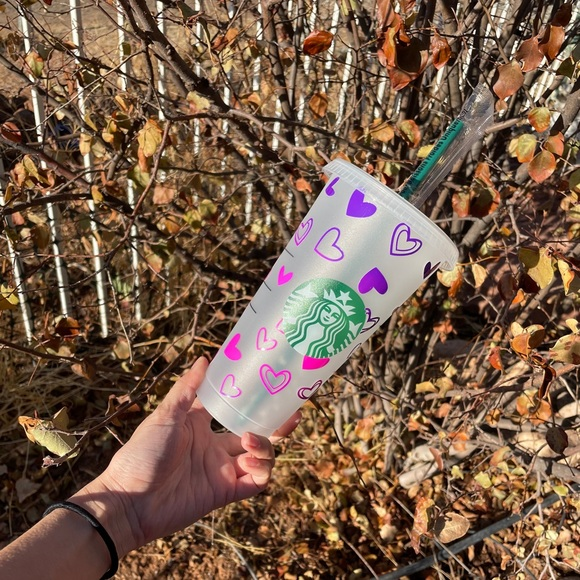Starbucks cup color changing vinyl